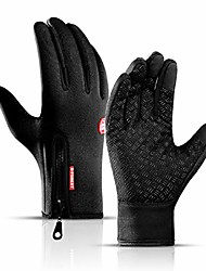 cheap -windproof touchscreen sport gloves unisex winter outdoor full finger gloves for running cycling skiing hiking hunting climbing camping, outdoor sports in winter