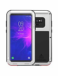 cheap -love mei samsung galaxy note 9 case,armor tank heavy duty shockproof dustproof aluminum metal case cover for samsung galaxy note 9 (silver)