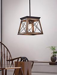 cheap -25 cm Single Design Pendant Light Metal Vintage 110-120V 220-240V