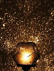 cheap -LED 3D Starry Bedside Night Lamp Planetario Casero for Kids Baby Nursery Planetarium Constellation Projector Night Scape Lights Home Bedroom Decoration Christmas Gift