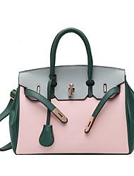 cheap -Women's Bags Satchel Top Handle Bag Date Office & Career 2021 Black Orange Green Brown