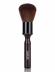 cheap -hair cutting brush, neck duster brush for hair cutting, ultra soft long wood handle barber brush off hair duster,powder brush professional salon barber tool