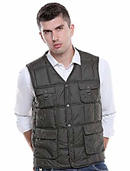 cheap -heated 4 pock heated men's vest (green, x large)