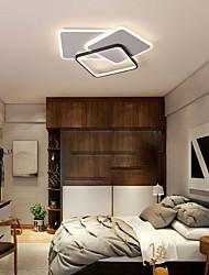 cheap -52cm LED Ceiling Light Modern Square Geometric Shapes Tricolor Light Flush Mount Lights Metal Painted Finishes 110-120V 220-240V