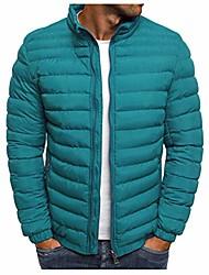 cheap -men's winter hooded packable down jacket lightweight water-resistant puffer jacket windproof coat