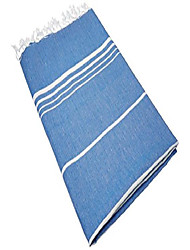 cheap -paradise series turkish bath towels – traditional peshtemal design for bathrooms, beach, sauna – 100% natural cotton, ultra-soft, fast-drying, absorbent – warm, rich colors with stripes night blue