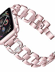 cheap -replacement for apple watch band 38mm 40mm series 6/5/4/3/2/1/se iphone iwatch bracelet band link wristband bling for women(38mm/40mm, rose gold)