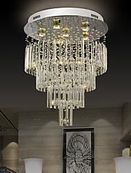 cheap -60cm Crystal Chandelier Ceiling Light DIY Modernity Luxury Globe K9 Crystal Pendant Lighting Hotel Bedroom Dining Room Store Restaurant LED Pendant Lamp Indoor Crystal Chandeliers Lighting