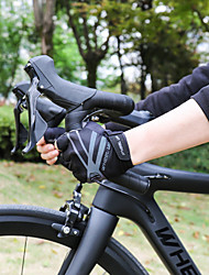cheap -Bike Gloves / Cycling Gloves Touch Gloves Anti-Slip Wearable Motor Bike Winter Sports Fingerless Gloves Sports Gloves Black for Adults' Road Cycling Cycling / Bike