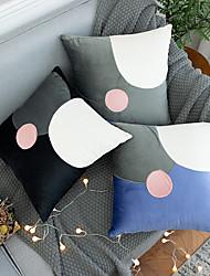 cheap -Modern Patchwork Geometric Decorative Throw Pillow Cases Cushion Covers For Sofa Seat Chair Car 45x45cm