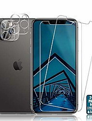 cheap -iphone 11 pro screen protector + camera lens protectors by , [2 + 2 pack] premium hd clear tempered glass, anti- scratch, hd clarity, case friendly, anti-bubble 3d touch accuracy film