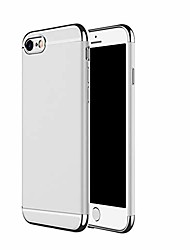 cheap -iphone se 2020 case (2nd generation), ultra slim & rugged fit shock drop proof impact resist protective cover, 3 in 1 hard case for apple iphone se 2020 (4.7inch) - silver