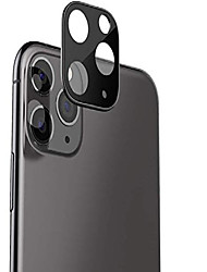 cheap -camera lens protector cover for iphone 11, 2019, tempered glass camera lens ultra thin clear transparent anti-scratch metal frame camera lens protector (iphone 11 6.1'')