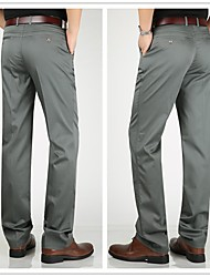 cheap -men's 74661 plain front stretch trousers, navy (30x30)
