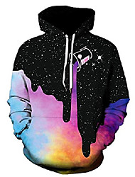 cheap -men's hoodies pullover 3d print pattern fashion women sweatshirt (p11,xxl)