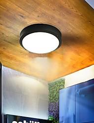cheap -Outdoor LED Ceiling Light 28cm Modern Black Brown Porch Light Corridor Aisle Balcony 12W Outdoor Wall Lights Waterproof Warm White+White 220-240V 110-120V Outdoor Lighting 1 LED Bead