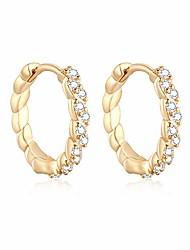 cheap -925 sterling silver hoop studs earrings for women, 14k gold plated huggie hoop earrings for girls drop dangle earrings for sensitive ears
