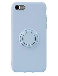 cheap -iphone se 2nd generation 2020, iphone 8, iphone 7 silicone multicolor case with rotating ring holder, kickstand and metal stand for magnetic car mount