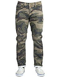 cheap -men's guerrilla denim, 32x32, weathered woodland camo