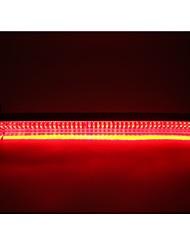 cheap -2Pcs 32LED 12V Car Rear Window High Mount Light Assembly Red Tail Lamp Bar High Brake Lights To Highlight Rear Lights