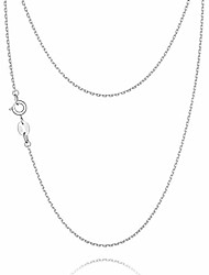 cheap -925 sterling silver chain necklace chain for women girls 1.1mm cable chain necklace upgraded spring-ring clasp - thin & sturdy - italian quality 22 inch