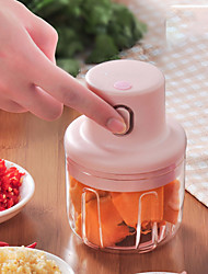 cheap -Wireless Electric Garlic Press Mini Meat Grinder Juicer Household Fruit Vegetable Chopper Mixer Food Processor Kitchen Tools