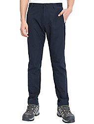 cheap -men's hiking pants quick dry lightweight sun protection mountain outdoor stretch golf trousers with elastic waist (navy blue, 30)