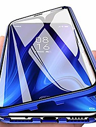 cheap -eabhulie redmi k20 pro case, 360° full body transparent tempered glass with magnetic adsorption metal bumper case cover for xiaomi redmi k20 / k20 pro blue