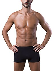 cheap -men's boxer made with technical sports yarns superconfortable seamless, always skin dry, no need ironing black