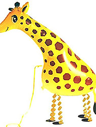 cheap -pet balloons walking animal balloon pets air walkers, eco balloon! birthday kids party toy! many styles! set of 3 (giraffe)