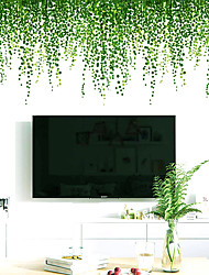 cheap -Landscape / Floral / Botanical Wall Stickers 3D Wall Stickers Decorative Wall Stickers, PVC Home Decoration Wall Decal Wall Decoration 1pc 64*40cm