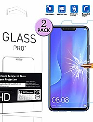 cheap -for huawei nova 3i screen protector smartphone tempered glass phone protective film (2 pack)