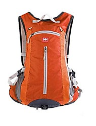cheap -15l outdoor cycling bag with helmet net, lightweight and breathable mesh design, suitable for riding, travel and other outdoor activities, orange