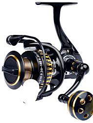 cheap -Fishing Reel Spinning Reel 5.0:1 Gear Ratio 12 Ball Bearings Adjustable for Sea Fishing / Freshwater Fishing / Trolling & Boat Fishing