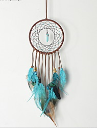 cheap -Dream Catchers with Handmade Traditional String Natural Color for Boy and Girl's Gifts (Peacock Feathers)