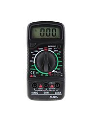 cheap -XL830L Digital Multimeter Esr Meter Testers Automotive Electrical Dmm Transistor Peak Tester Meter Capacitance Meter