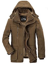cheap -winter jacket men thicken warmjackets men's hooded windbreaker parka plus size 5xl 6xl coats brown m