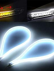 cheap -switchback led strip light amber turn signal white drl 24 inch flexible headlight stirp tube lights (white amber wydt-60)