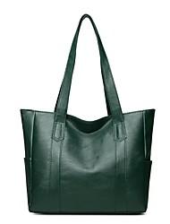 cheap -Women's Bags PU Leather Leather Crossbody Bag Zipper Daily Outdoor Handbags Baguette Bag MessengerBag Black Purple Red Green