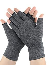cheap -1 Pair Compression Arthritis Gloves Fingerless Hand Gloves for Rheumatoid Osteoarthritis Joint Pain and Carpel Tunnel Relief for Men Women