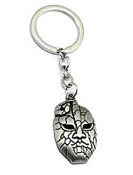 cheap -anime jojo's bizarre adventure stone mask pendant chain charm necklace keychain (key ring)