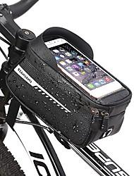 cheap -Bike Frame Bag Top Tube 6.5 inch Cycling for Similar Size Phones Black Mountain Bike / MTB Road Bike Cycling / Bike