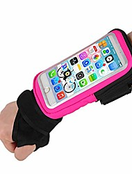 cheap -forearm band wristband thumb wrist belt sport running armband,yiluyiqi riding wristband pouch bag with key id cash holder for cycling, jogging, exercise for smartphone up to 6.5 inchs