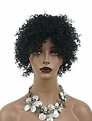 cheap -short jumbo afro african american wigs for black women kinky curly black full wigs 8 inch