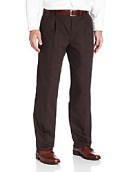 cheap -men's easy khaki d3 classic-fit pleated pant, after dark - discontinued, 36w x 31l