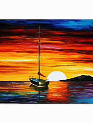 cheap -100% Hand Painted By Professional Artist Handmade Abstract Landscape Oil Painting On Canvas Living Room Home Decor Gold Art