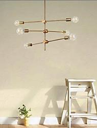 cheap -78 cm Sputnik Design Nordic Chandelier Metal Artistic Style Sputnik Industrial Painted Finishes Artistic Nordic Style 110-120V 220-240V
