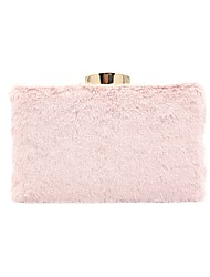 cheap -Women's Bags Faux Fur Evening Bag Feathers / Fur Plain 2020 Wedding Party Almond Blushing Pink