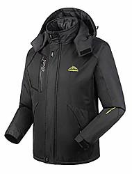cheap -men's winter fleece jacket warm ski jacket coat - windproof &waterproof - mountain sports outdoor warm jacket (asian size)