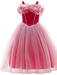 cheap -Princess Dress Party Costume Kid's Girls' Dresses Halloween Dress Party & Evening Festival Halloween Festival / Holiday Terylene Fuchsia Easy Carnival Costumes Princess / Skirt